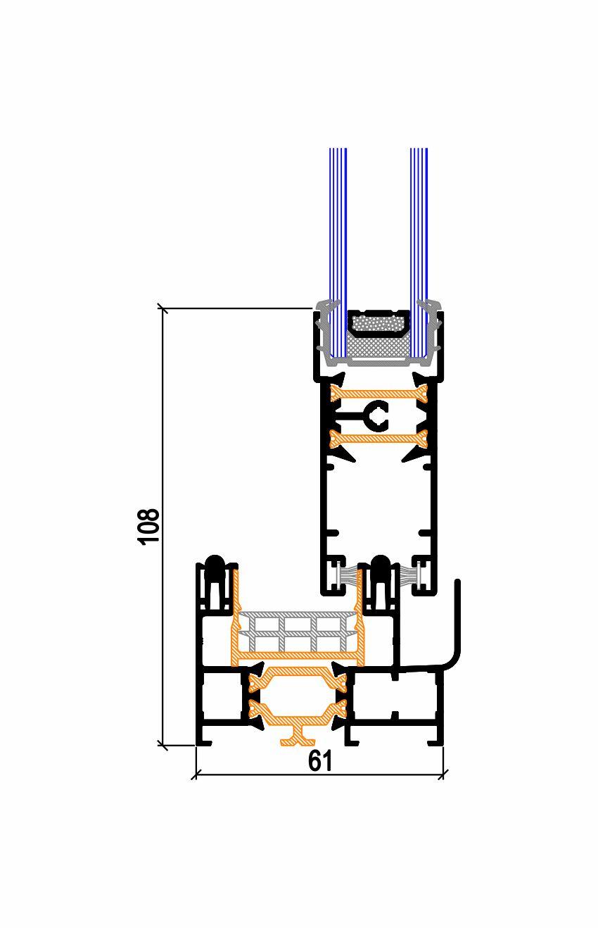 Marco inferior hoja recta C.29 TP RPT (50-61) Simer
