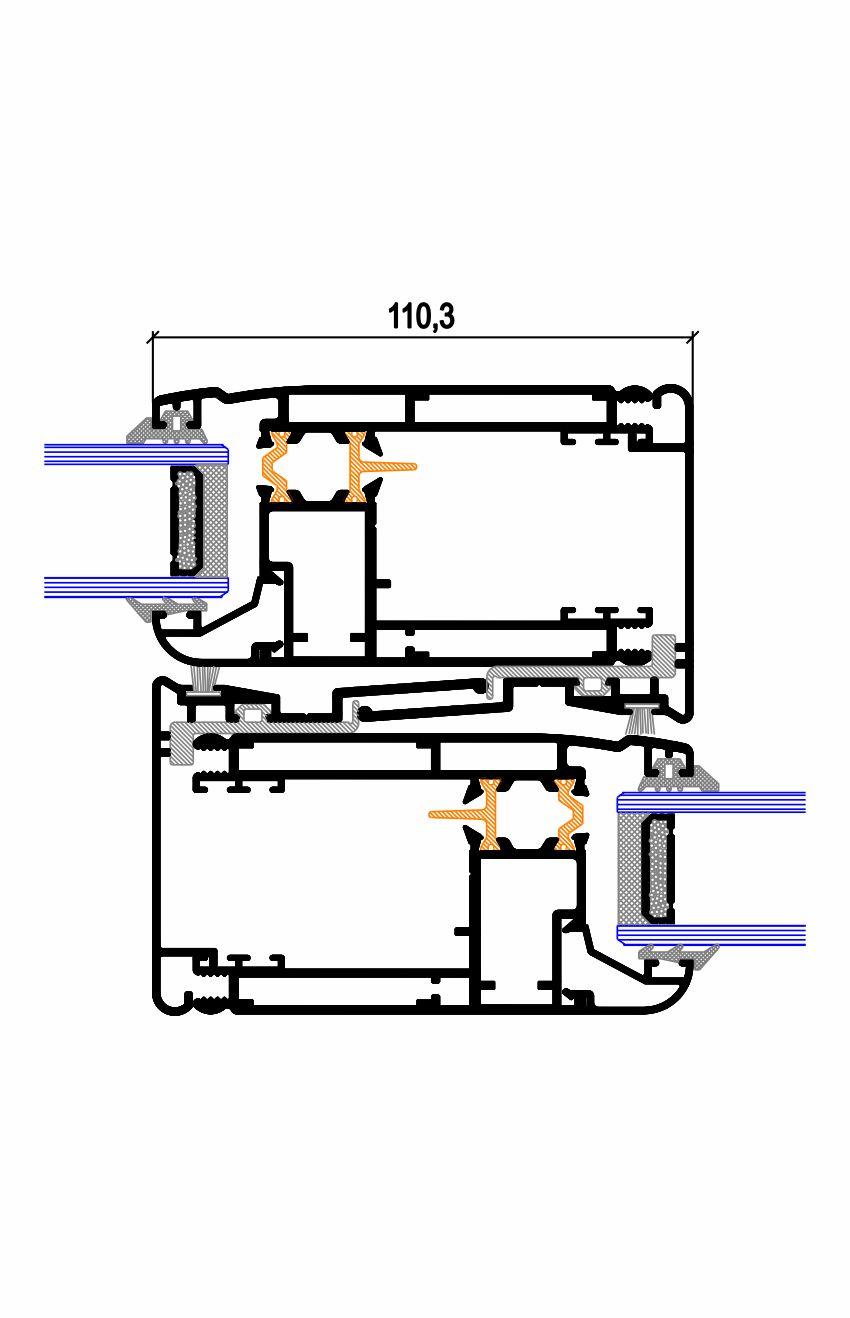 Nudo central elevable CE.43 P RPT (140) Simer