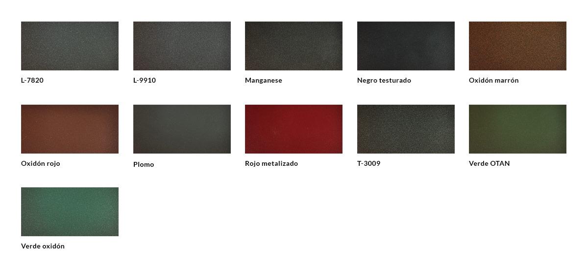 Tabla acabados RAL no estándar metalizados (3)