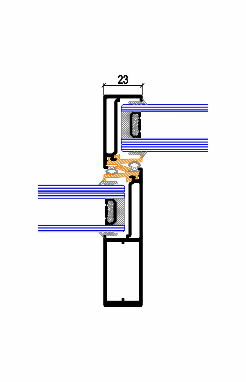 Nudo central minimalista C.32 TP RPT (62-72) Simer